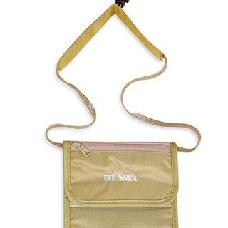 Skin Folded Neck Pouch Natural