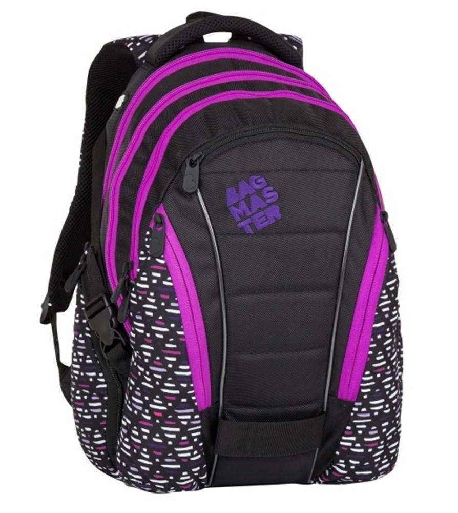 Bagmaster Bag 8 A Black/pink/violet