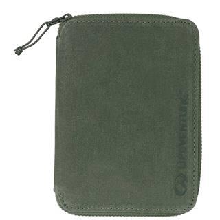 RFiD Mini Travel Wallet Olive