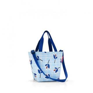 Shopper XS Leaves Blue