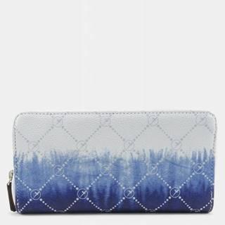 Modro-biela vzorovaná peňaženka Tamaris