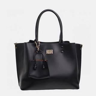 Čierna kabelka s malým púzdom Bessie London