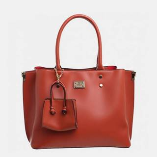 Hnedá kabelka s malým púzdrom Bessie London