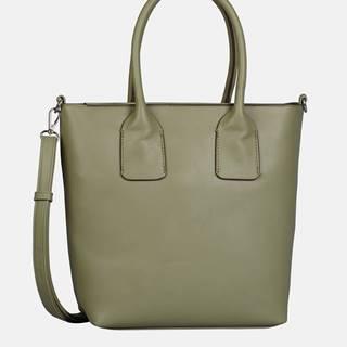 Zelená veľká kabelka Tom Tailor