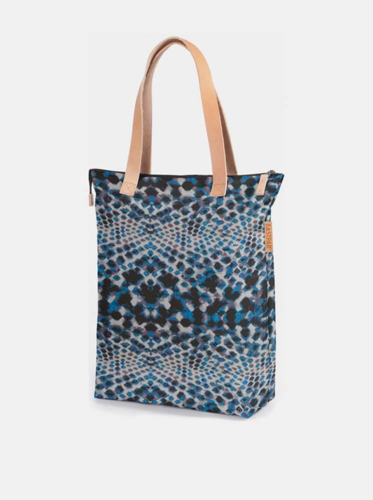 Eastpak Modrá vzorovaná taška Eastpak