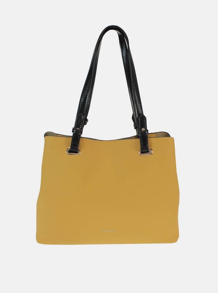 Žltý shopper Gionni