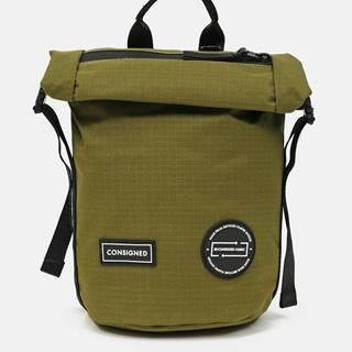 Zelený batoh/taška cez rameno Consigned