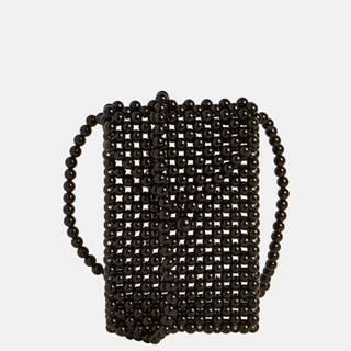 Čierna korálková kabelka Object