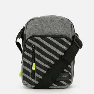 Šedá pánska vzorovaná croosbody taška LOAP
