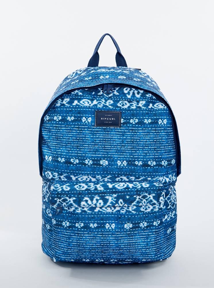 Rip Curl Modrý vzorovaný batoh Rip Curl