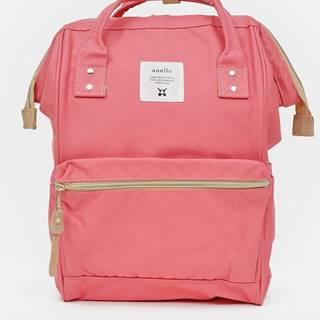 Ružový batoh Anello 18 l