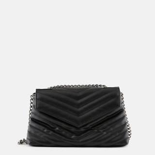 Čierna crossbody kabelka Pieces Silano