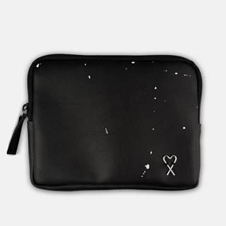 čierne peňaženka Splashed Black