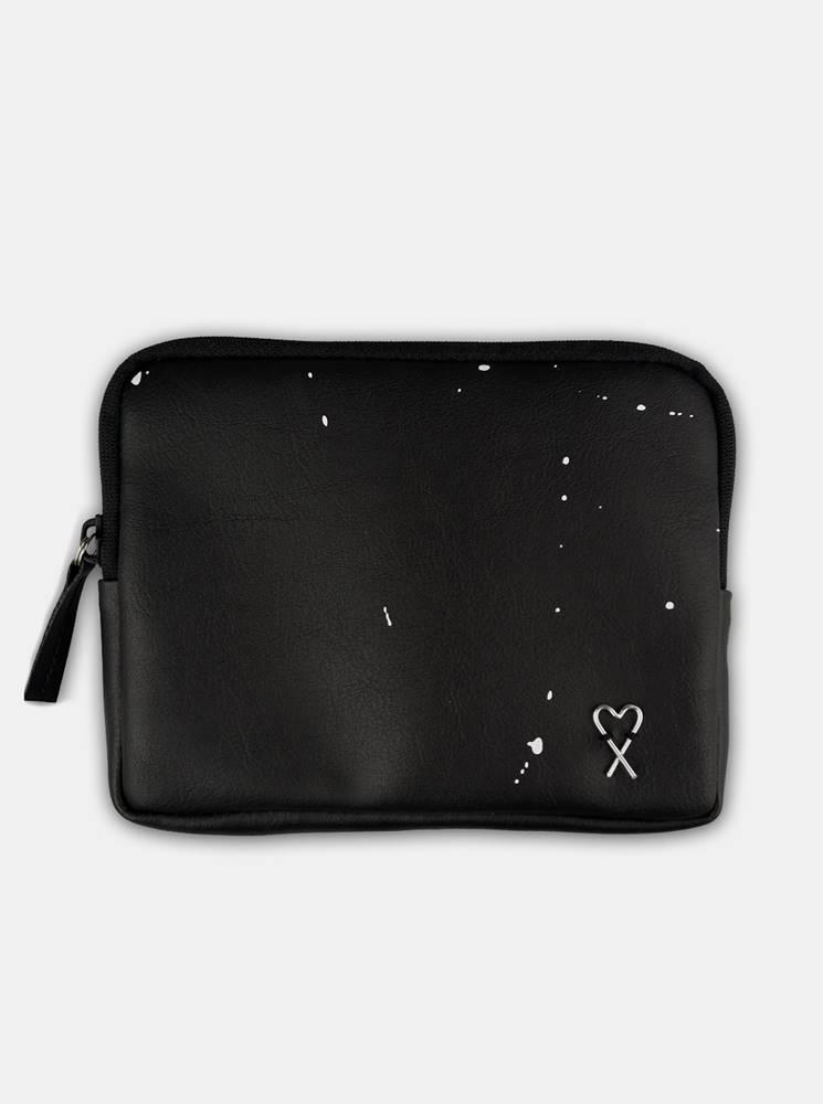xiss čierne peňaženka Splashed Black