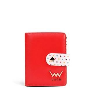 červené malá peňaženka Poppyna