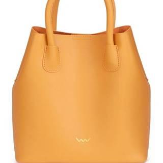 horčicová kabelka Shiny Silvia