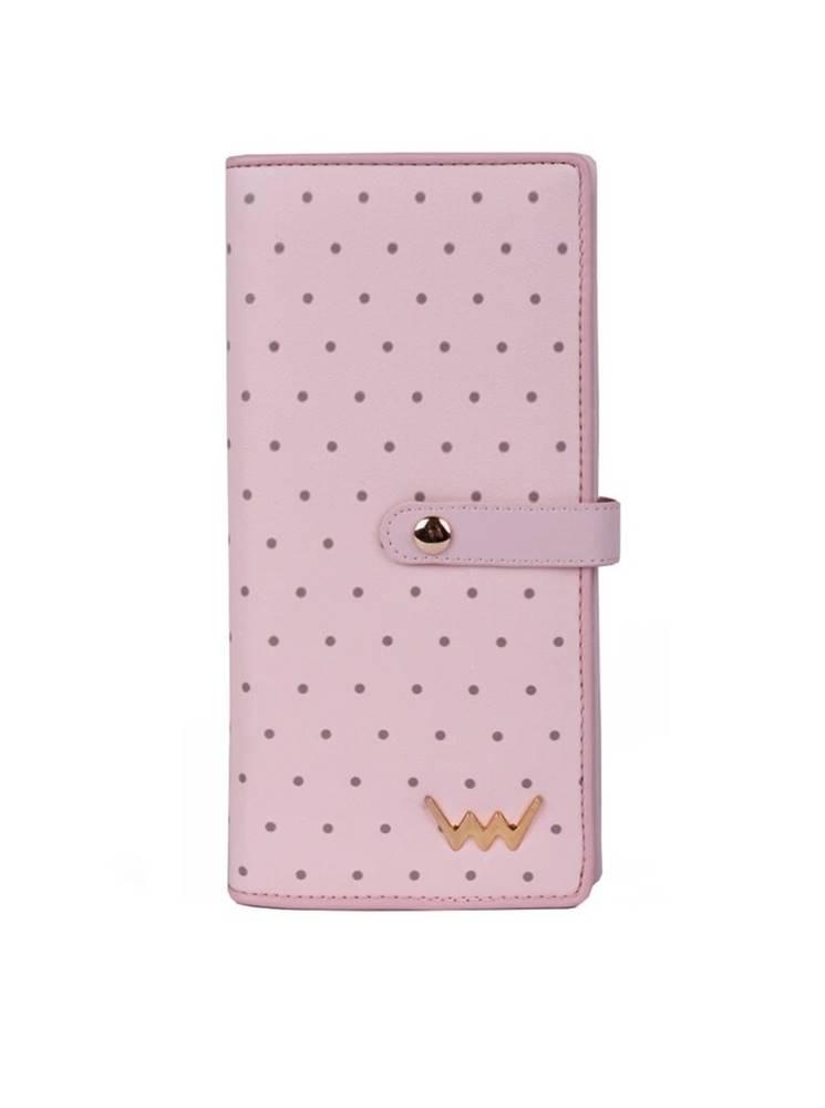 vuch Vuch púdrovo ružová peňaženka Cora