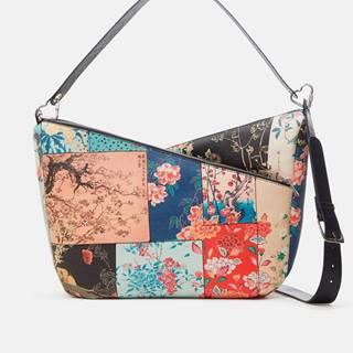 Farebná dámska kvetovaná kabelka Desigual Magnus Harry 2.0 Maxi