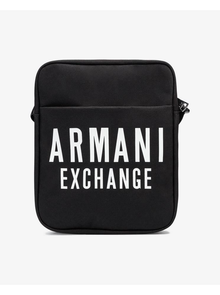 Armani Exchange Tašky, ľadvinky pre mužov  - čierna