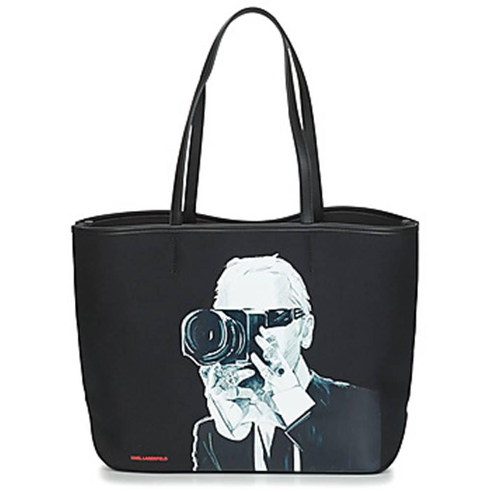 Karl Lagerfeld Veľká nákupná taška/Nákupná taška Karl Lagerfeld  KARL LEGEND PHOTOGRAPHER