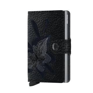 Secrid Miniwallet Stitch Magnolia Black