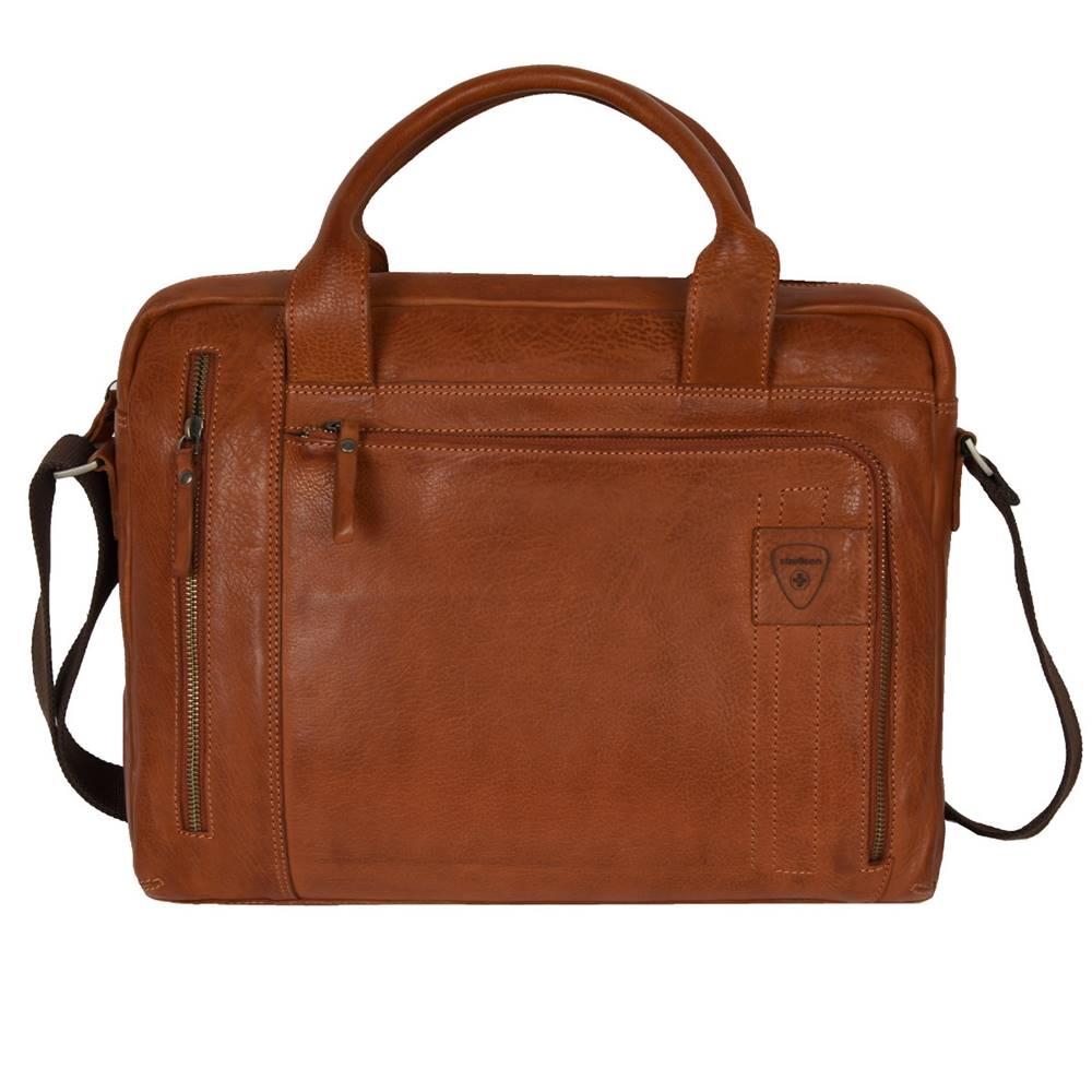 Strellson Strellson Upminster Briefbag SHZ Cognac