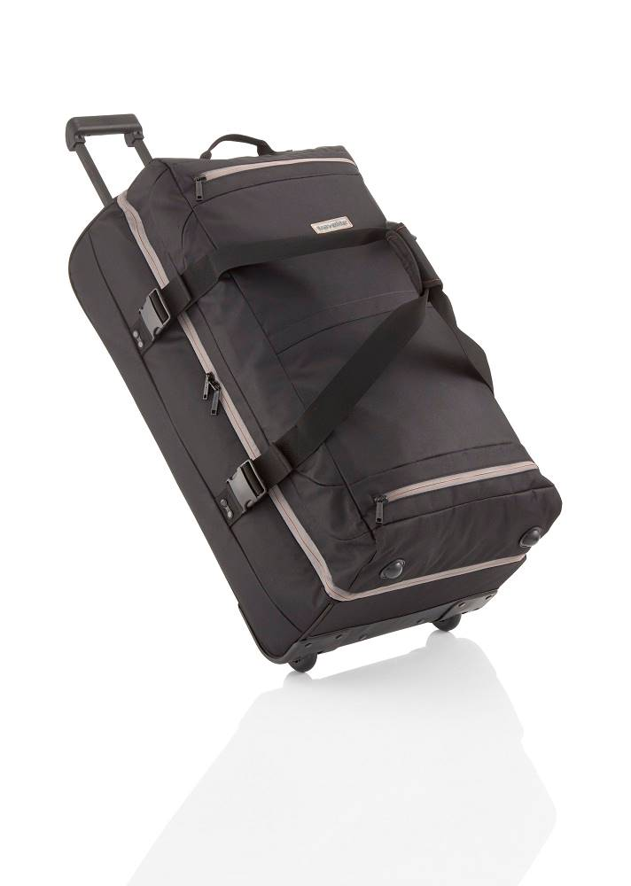 Travelite Travelite Basics Doubledecker on wheels Black