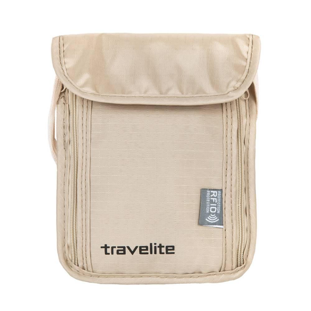Travelite Travelite Neck pouch RFID Beige