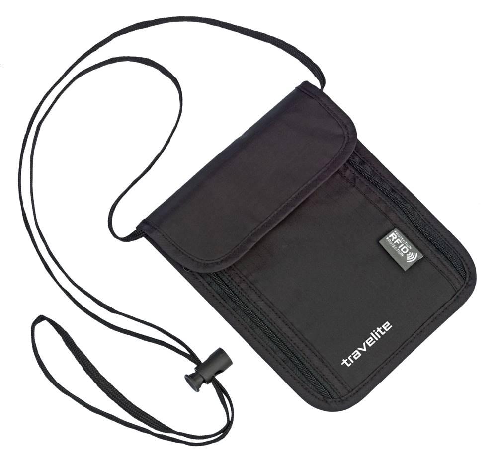 Travelite Travelite Neck pouch RFID Black