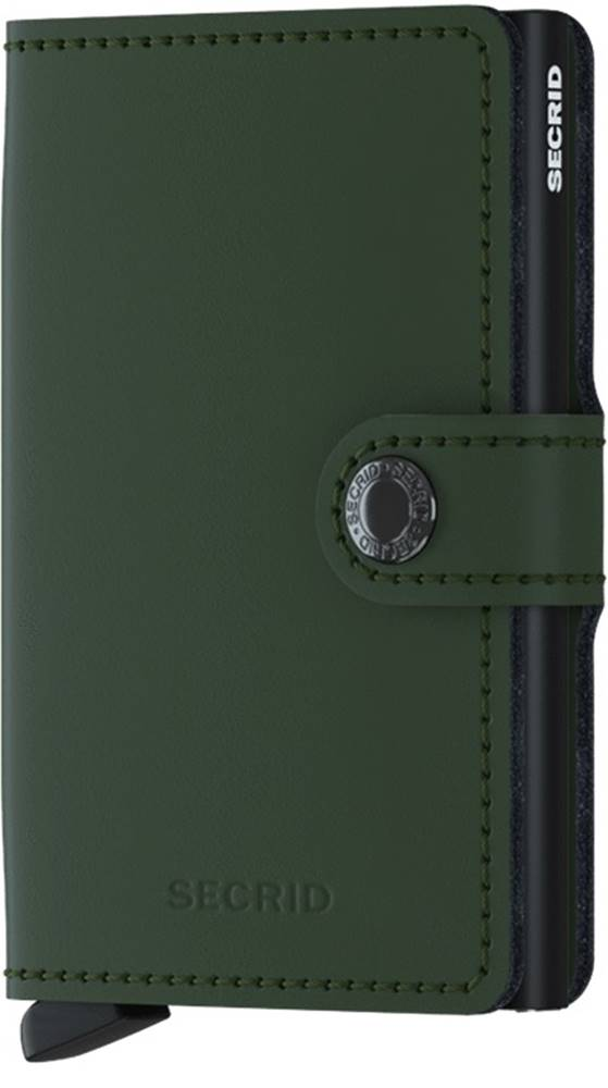 Secrid Secrid Miniwallet Matte Green-Black